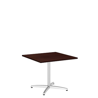 Bush Conference Tables Square Conference Table Kit Metal Base - 36 conference table