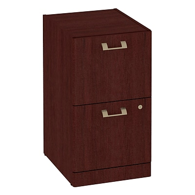 Bush Business Quantum 2 Dwr Pedestal, Harvest Cherry