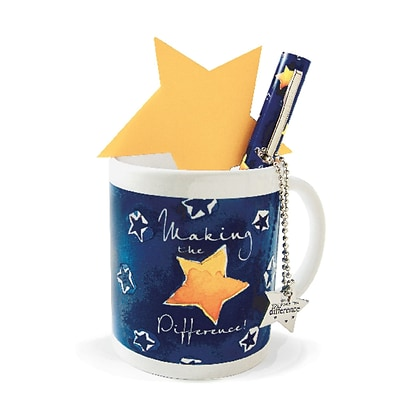 Baudville® Celebration Mug Gift Set, Making the Difference