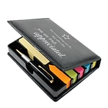 Baudville® Flip Top Sticky Note Holder W/ Pen & Calendar, You Are Truly Appreciated