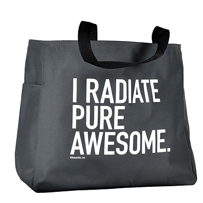Baudville® Tote Bag, Exclamations - I Radiate Pure Awesome