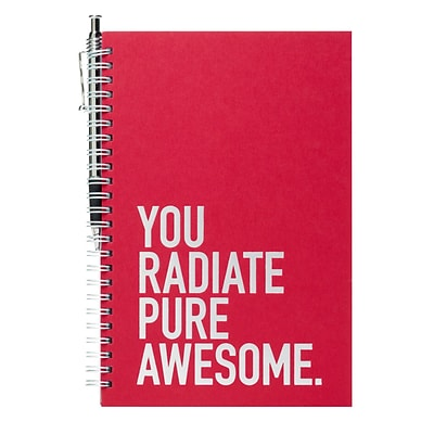 Baudville® Foil-Stamped Journal W/ Pen Set, Exclamations
