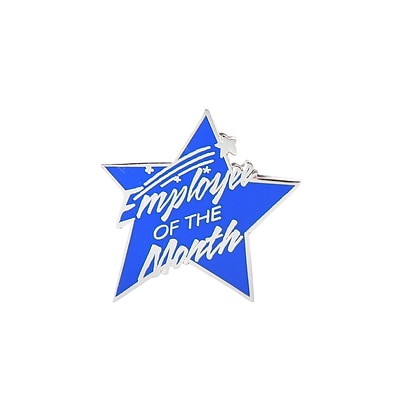 Baudville® Multi-Color Lapel Pin, Employee of the Month