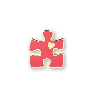 Baudville® Lapel Pin, Essential Piece With Heart