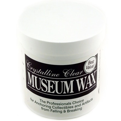 Ready America™ QuakeHOLD!™ 13 oz. Crystalline Clear Museum Wax, 6/Pack