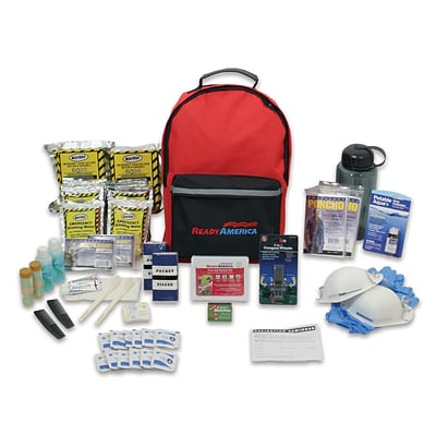Ready America Grab N Go 2 Person 3 Days Backpack Deluxe Emergency Kit (70285)