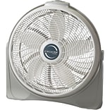 Lasko® 3520 20 Cyclone Pivoting Floor Fan, White