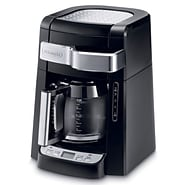 Delonghi® 12 Cups Automatic Drip Programmable Brewer Bundle