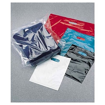 15 x 18 + 4 BG Low Density Patch Handle Bags, Clear (25-1518-C)