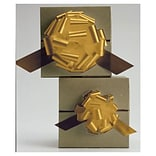 5 1/2 Satin Perfect Pull Bows, Gold (257-0520-15)