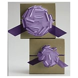 4 Satin Perfect Pull Bows, Lavender (257-0418-25)