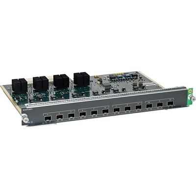 Cisco™ Catalyst WS-X4712-SFP+E Line Card; 12 Ports
