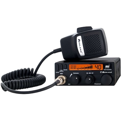 Midland 1001LWX Two Way CB Radio With Weather Scan; 4 W