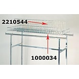 NAHANCO 23 x 54 x 3 Grid Topper For K40 and K41 Rack, Chrome
