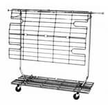 NAHANCO Shelf/Display Screen For RCS/1, RCS/2 and RCW/4, Chrome