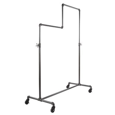 Econoco Pipeline Double Tier Ballet Rack, Anthracite Gray