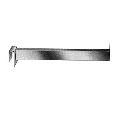 Econoco RH/14 14 Rectangular Tubing Faceout, Chrome, Metal, 24/Pack
