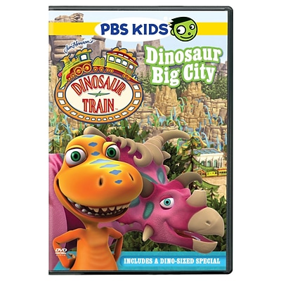 PBS® Dinosaur Train: Dinosaur Big City DVD