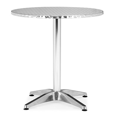 Zuo® 27 1/2 x 27 1/2 Aluminum Christabel Round Table