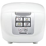 Panasonic® SR-DF101 5 Cup Fuzzy Logic Rice Cooker; White