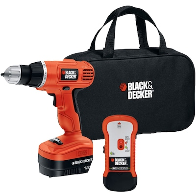 Black & Decker(r) GCO12SFB 12V Drill/Driver with Stud Sensor and Storage Bag
