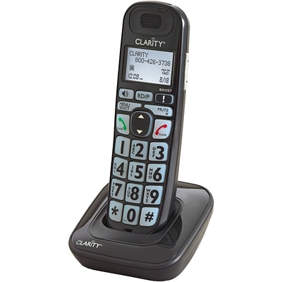 Clarity® 52703 Cordless Expandable Handset, DECT, 100 Name/Number