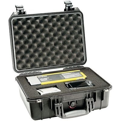 Pelican 1450 Case With Foam, Black