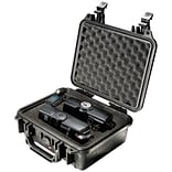 Pelican 1200 Case With Foam; Black