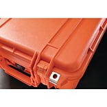 Pelican 1450 Case With Foam, Orange
