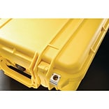Pelican 1400 Case With Foam; Yellow