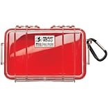 Pelican 1040 Micro Case; Red