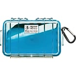 Pelican 1040 Waterproof Case; Blue/Clear