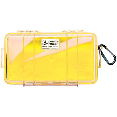 Pelican 1060 Micro Case; Yellow
