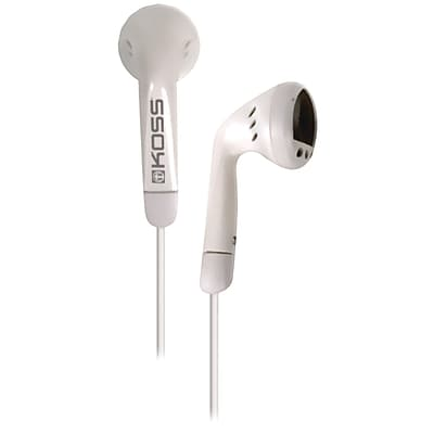 Koss® Earbuds; White