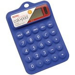Royal® 29311 8-Digit Display Rubber Calculator (ROY29311R)