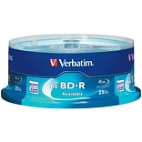 Verbatim VTM97457 25 GB BD-R Spindle, 25/Pack