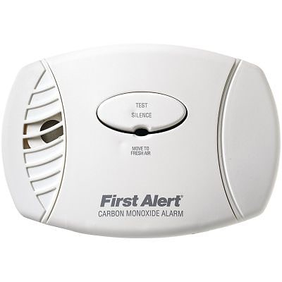 First Alert® Carbon Monoxide Plug-In Alarm With Battery Backup