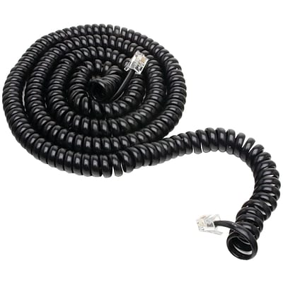 GE JAS76139 25 Conductor Coil Cord, Black