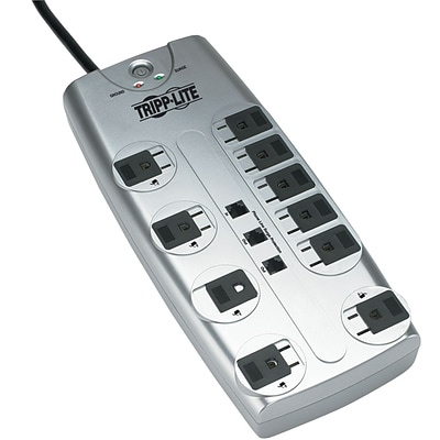 Tripp Lite PROTECT IT!® 10-Outlet 2395 Joule Surge Suppressor With 8 Cord