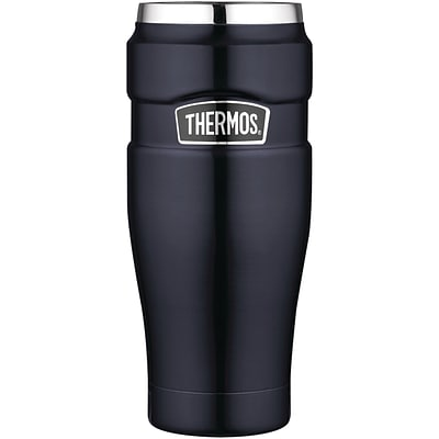 Thermos® 16 oz. Stainless Steel King Tumbler, Midnight Blue