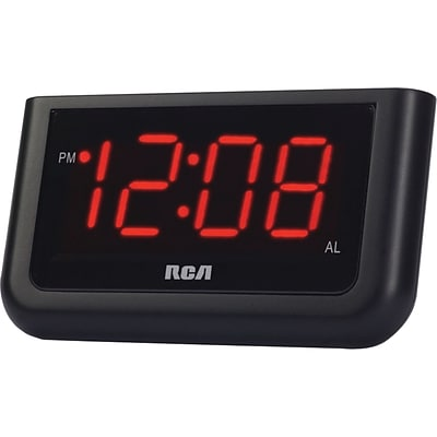 RCA® RCD10 Alarm Clock With 1.4 LCD Display
