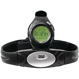 Pyle® Advance Heart Rate Watch With Walking/Running Sensor; Training Zones; And Calorie Counter