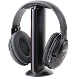 Pyle PHPW5 Professional 5 in 1 Wireless Headphone, Black