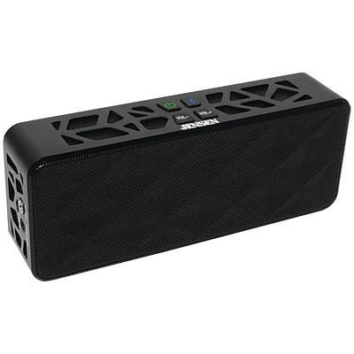 Jensen® SMPS-650 Portable Bluetooth Wireless Rechargeable Speaker, Black