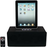 Jensen® JiPS-290i Universal Docking Speaker Station For iPad; iPhone; iPod; Black