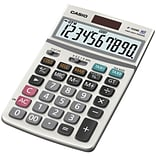 Casio® JF-100MS 10-Digit Display Solar Calculator