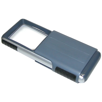 Carson® Optical MiniBrite™ PO-25 Slide-Out LED Magnifier; Clear