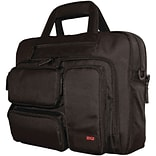 Mobile Edge Corporate Notebook Briefcase; Black