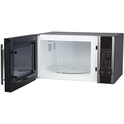 Magic Chef® 1000 W Microwave With Digital Touch; Stainless Steel