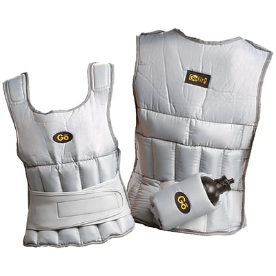 Gofit GF-WV10 Weighted Vest; White